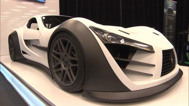 The Felino, built for the race track, has a seat that is moulded to the driver's body.