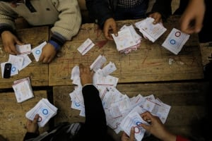 Mideast Egypt Constitutional Vote