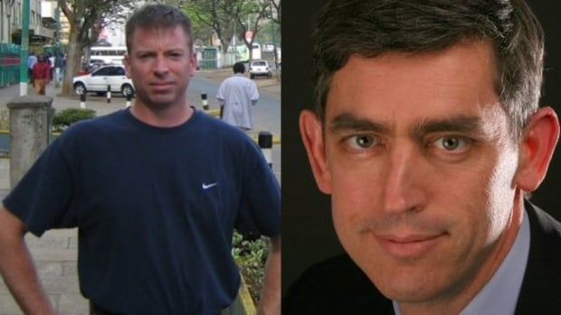 Martin Glazer, left, and Peter McSheffrey, right, had been in Kabul for less than a week when they were killed in an attack on a popular restaurant.