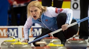 Quebec skip Allison Ross, shown here last year, will be competing at the Tournament of Hearts next month.