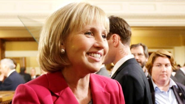 New Jersey Lt.-Gov. Kim Guadagno calls allegations by Hoboken Mayor Dawn Zimmer that disaster funds were contingent on approving a real estate deal 'wholly and completely false.'