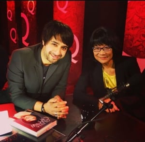 Olivia Chow and Jian Ghomeshi