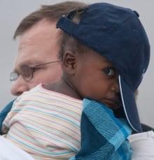 Haitian Orphans 20100127