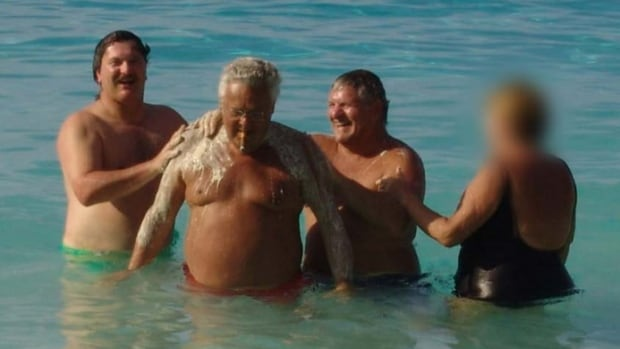 Jean Lavallée and Tony Accurso on a trip to the Virgin Islands in 2005. Lavallée told the Charbonneau Commission that he and Accurso have been friends for three decades.