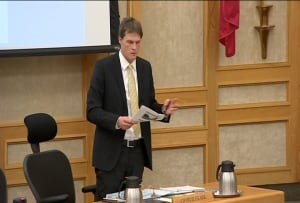 Charlie Clark at Saskatoon city council