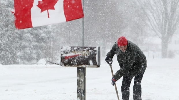 Nova Scotians can expect to do a lot more shovelling. Environment Canada predicts 20 to 30 centimetres will fall by Wednesday night.