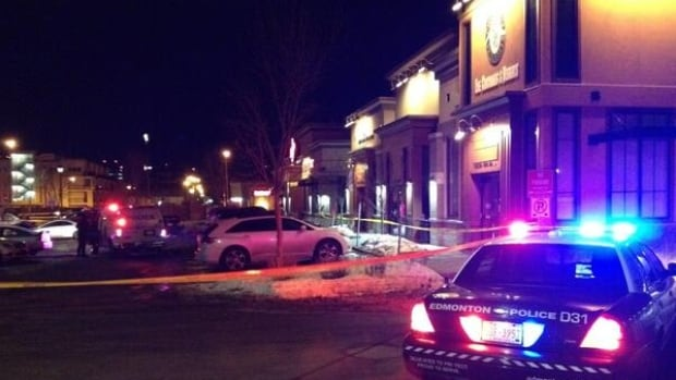 One person is dead and another hurt following a shooting outside Hudsons Taphouse in Oliver early Tuesday morning.