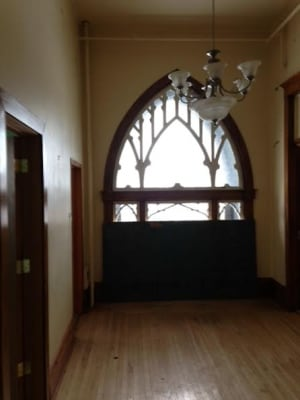 Castle Manor hallway