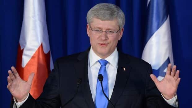 Harper-Netanyahu news conference