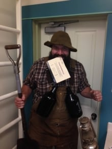 Dawson costume