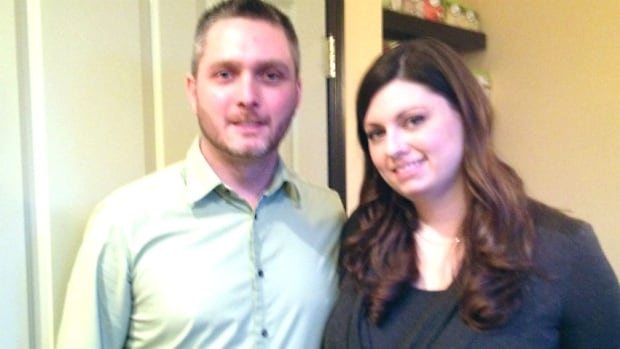 Ryan Stock and Sara Hughes almost got caught up in a scam while trying to sell a wedding dress on Kijiji.