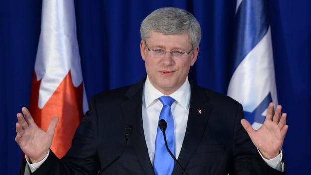 Prime Minister Stephen Harper, seen in press conference in Jerusalem on Tuesday, has cancelled a planned visit to the Dome of the Rock.