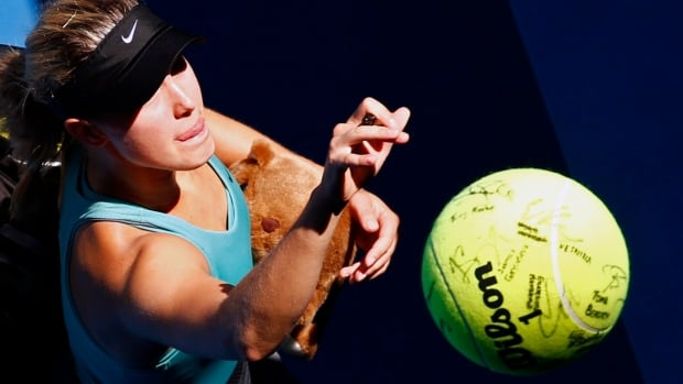 Eugenie Bouchard of Canada hopes to make history with a semi-final win at the Australian Open in Melbourne.