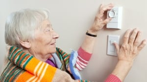 Setting thermostat