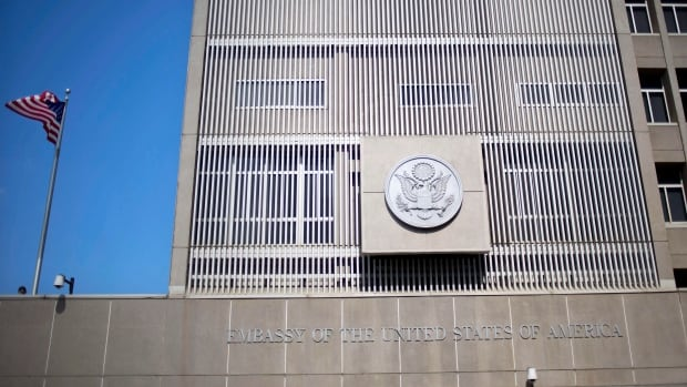 The Shin Bet intelligence agency says al-Qaeda planned to send foreign militants to attack the U.S. Embassy in Tel Aviv using explosives supplied by Palestinians.