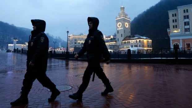 With less than three weeks before the 2014 Winter Olympics begin in Sochi, Russia, police patrol the streets on the lookout for terror threats.