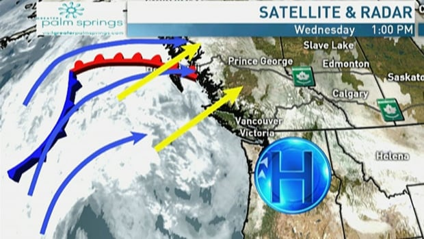 More dry weather for most of B.C., storms for northwestern B.C.