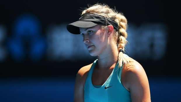 Canada's Eugenie Bouchard fell to China's Li Na of in the semifinals of the Australian Open on Thursday. Bouchard is the first Canadian woman to reach the final four of a Grand Slam tournament in 30 years.