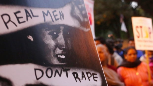 Demonstrators marked the anniversary of the death of a gang rape victim in New Delhi in December 2013. India increased penalties for sex crimes after the attack.