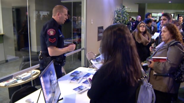 The Calgary Police Service hosted an open house on Wednesday evening in a bid to encourage members of the city's diverse range of communities to get involved in the force.