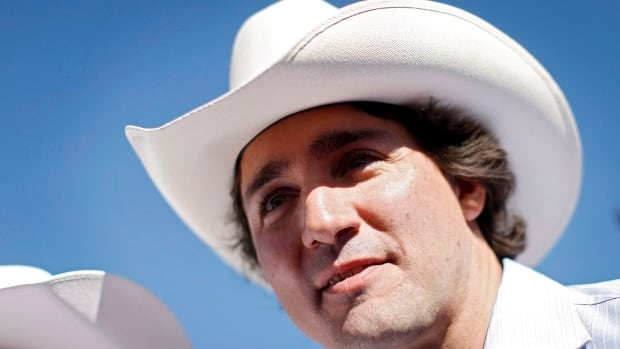 Liberal leader Justin Trudeau attends a Stampede breakfast in Calgary, Alta., Sunday, July 7, 2013. Trudeau has changed his position on the decriminalization of marijuana and now wants to see the drug legalized, taxed and regulated, a stance that has drawn the ire of the Conservative government but applause from pot activists.
