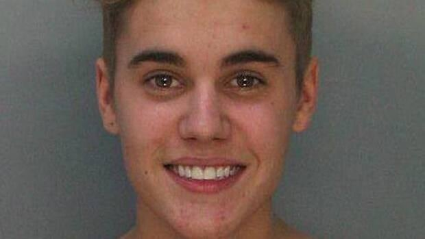Bieber was 'under the influence of drugs' and  'belligerent' when arrested