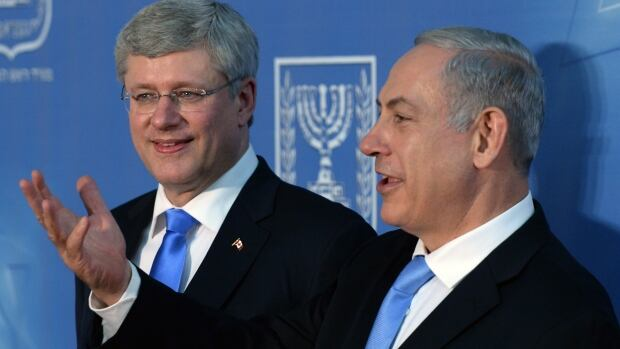 Prime Minister Stephen Harper's unequivocal support for Israel this week was warmly received by Israeli Prime Minister Benjamin Netanyahu, who called Canada under Harper one of Israel's 'closest allies.'