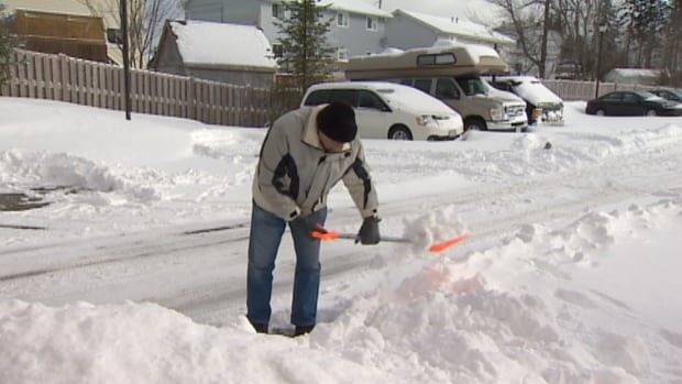 Snowed-in senior Keith Barrett calls snow clearing at his building 'absolutely disgusting.'