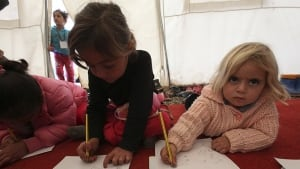 Syria refugee camp