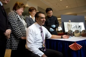 B.C. Advanced Education Minister Amrik Virk - acupuncture - Chinese medicine