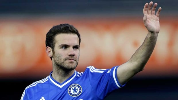 Juan Mata was Chelsea's player of the year for the last two seasons.