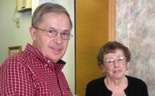 Dave Porter Jan Gnaedinger Blackburn Lodge Ottawa retirement home January 2014
