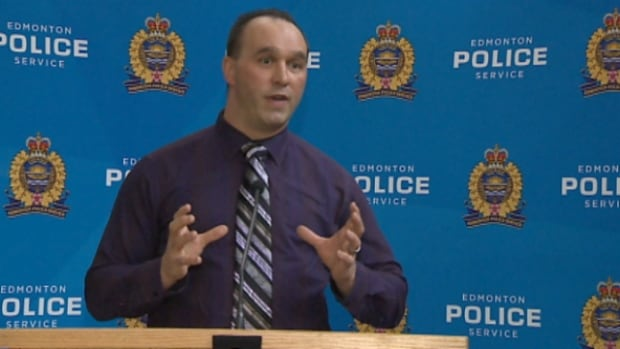 Const. Darren Smith discusses the case of a woman found in a leaky rental apartment with growing black mould.