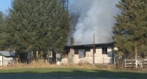 Damage - Langley Township farmhouse fire