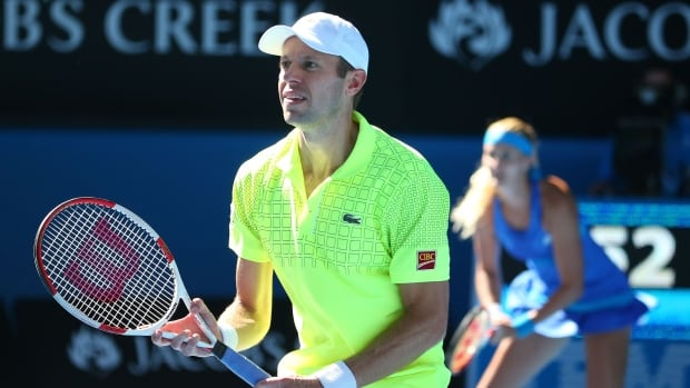 Canada's Daniel Nestor now owns three Australian Open mixed doubles titles.