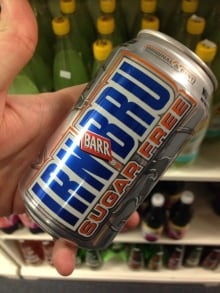 Irn Bru British Food Ban
