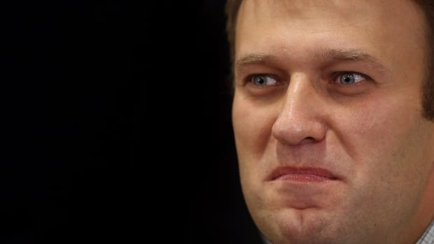 Russian opposition leader Alexei Navalny takes part in an opposition rally in downtown Moscow in Oct. 2013. Navalny has launched a website to publish a wide range of data pointing to corruption in Sochi.