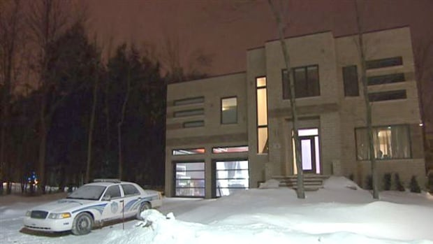 The Lorraine, Que. home of boxer Jean Pascal was raided by police on Sunday evening.