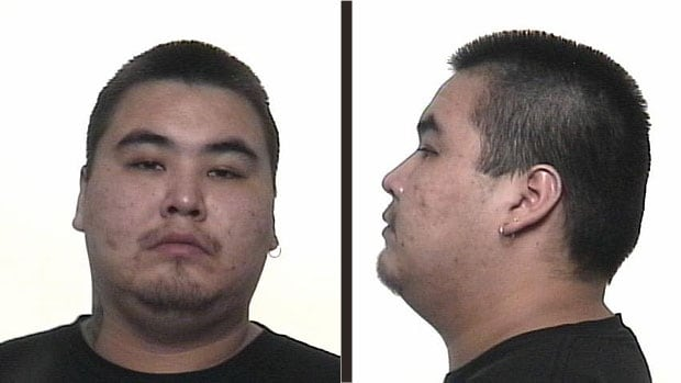 Justin Atelard Catcheway, age 30, is wanted on a Canada-wide warrant for the second-degree murder of Justin Desmarais.