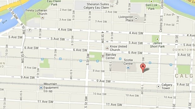 A man was stabbed this afternoon at Eighth Avenue and First Street southwest.