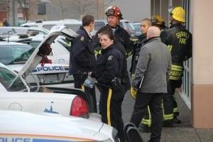 Surrey RCMP Accident