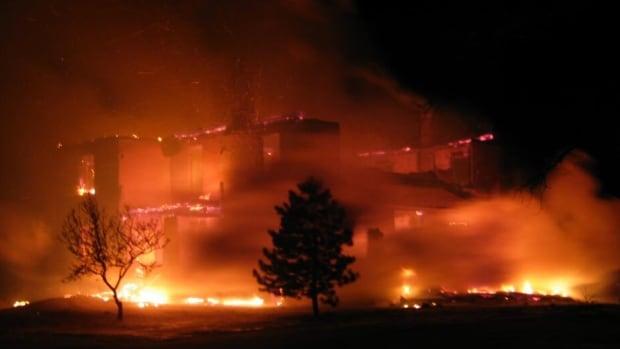 Fire guts empty home in Wilmot - Kitchener-Waterloo - CBC News