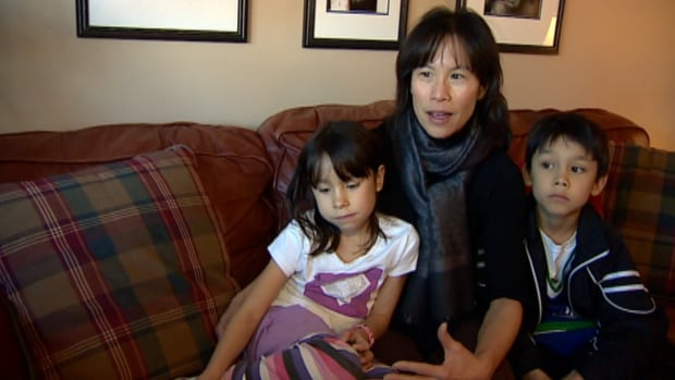 Carolyn Chin, whose children attend a Spanish bilingual program, was unhappy about plans to move it to another school.
