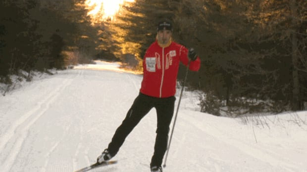 Louis Fortin, of Fredericton, is spending long hours on the trails, training for the Paralympic Winter Games in March.