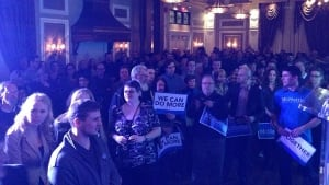 Brian McHattie campaign launch