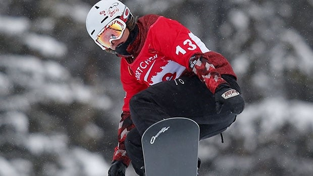 Maëlle Ricker is hopeful of competing in the Olympic snowboard cross event on February 16.