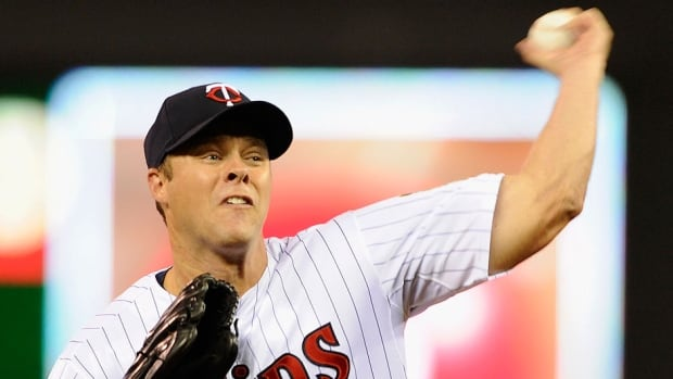 Andrew Albers of North Battleford, Sask., had a 2-5 record and 4.05 earned-run average in 10 starts with the Twins in 2013.