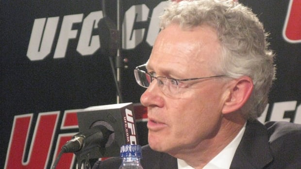 """The five shows UFC will hold in Canada in 2014 are up from three in recent years. """"On a per-capita basis, no nation in the world consumes MMA like we do,"""" says Tom Wright, director of UFC Operations in Canada, Australia and New Zealand."""