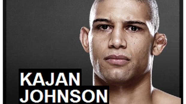 """Ragin"" Kajan Johnson is fighting his way to become an mixed martial arts champ, with 30 pro fights under his belt."