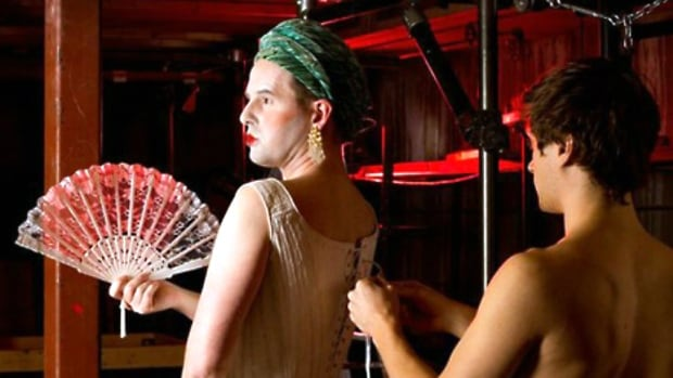 Theatre Outré says it produces shows that explore the fringes of sexual norms and gender expectations.